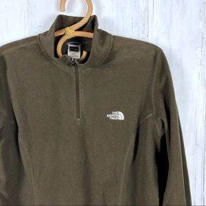 THE NORTH FACE Women's Fleece Pullover Olive XL